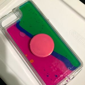 iPhone 8/7 plus casemate phonecase with popsocket